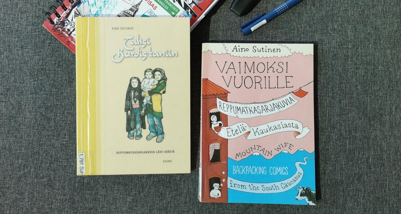 Aino Sutinen: Taksi Kurdistaniin & Vaimoksi vuorille